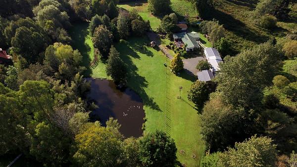 Mokioa Downs BnB - Aerial Photography Rotorua