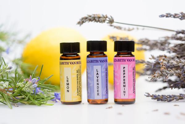 Elizabeth Van Buren –Essential Oils (Product Photography) @ Santa Cruz, California