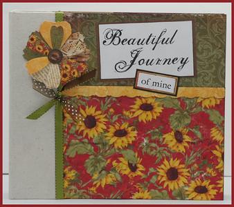 Beautiful Journey of Mine 9 x 9 Album