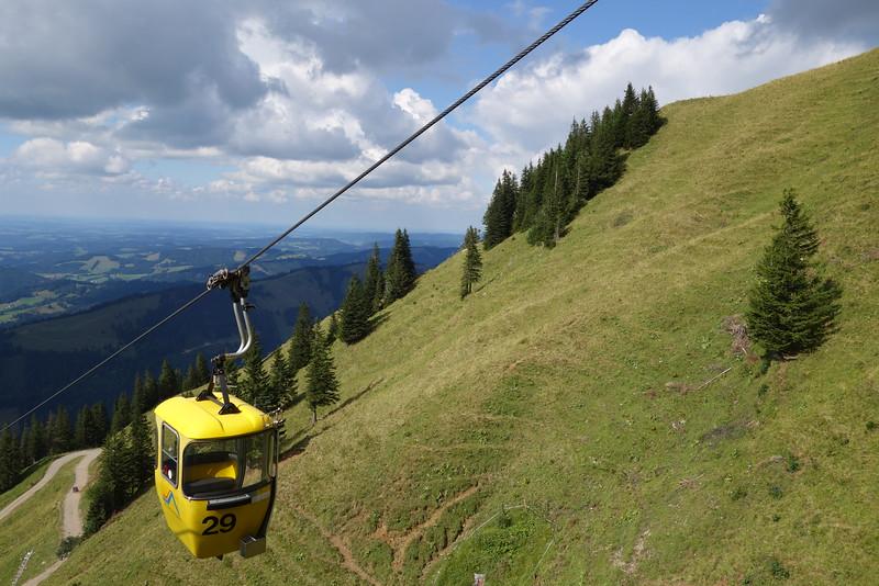 Hochgratbahn / cable car up Hochgrat Mountain (1833m)