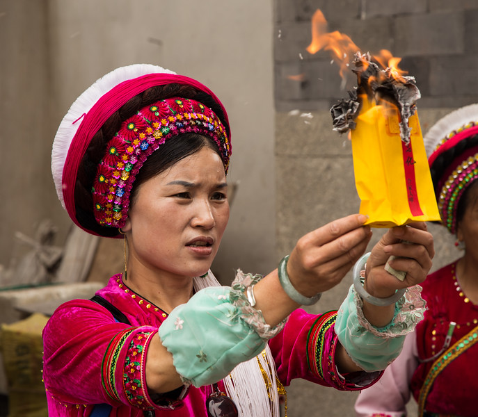 Ceremony at Temple in Dali, Yunnan, China-9914.jpg