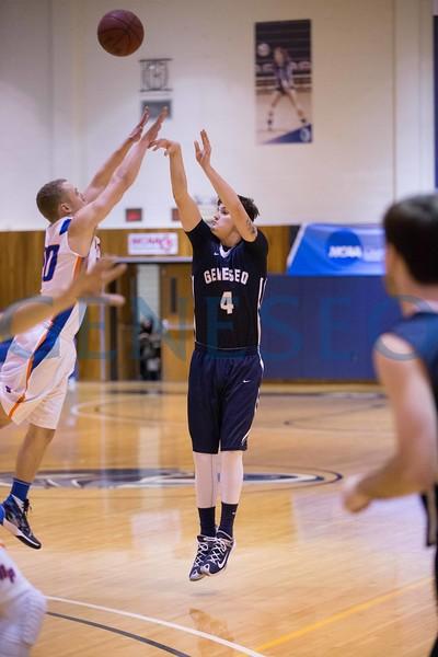 Men's Basketball vs. New Paltz