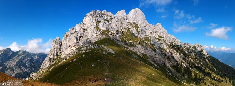 Gehrenspitze alpine climbing 2012-09-07