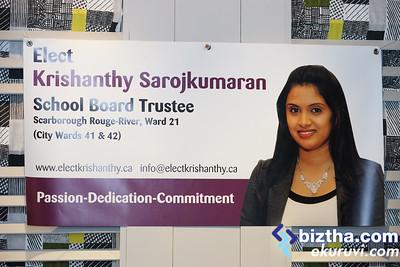 Krishanthy Sarojkumaran - School Board Trustee Ward 41 and 42