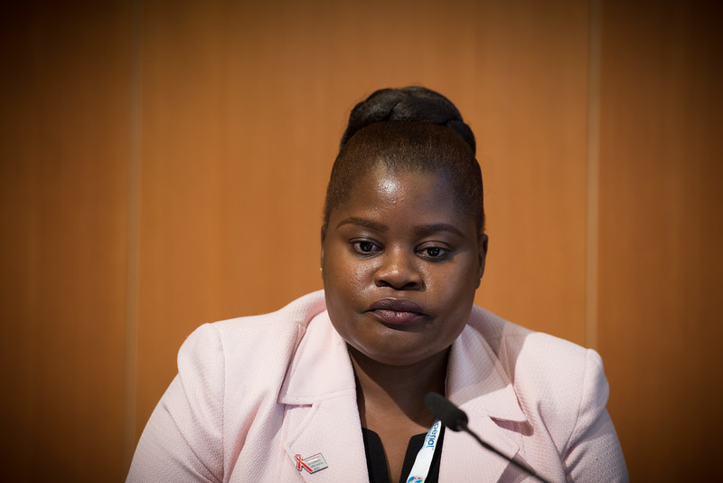 22nd International AIDS Conference (AIDS 2018) Amsterdam, Netherlands   Copyright: Marcus Rose/IAS  Photo shows: The 4th HIV Exposed Uninfected (HEU) Child and Adolescent Workshop.  Clara Banya, International Community of Women Living with HIV (ICW), Malawi