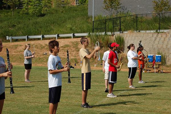 Alpharetta High Marching Band Rookie Camp 2006