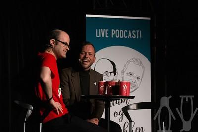 08.02.2019 Lahlum og Lysbakken, live podcast
