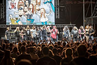 2016.09.04. - Dr. Weisz és a Metal Konzílium a Rock On! Fest 2016-on
