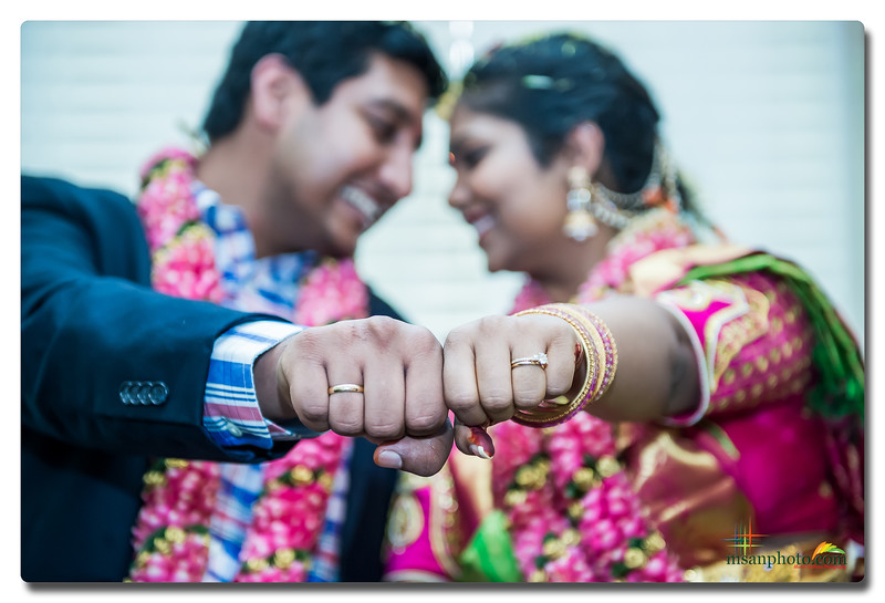 Anuhya & Chaithu's Engagement Ceremony at Home