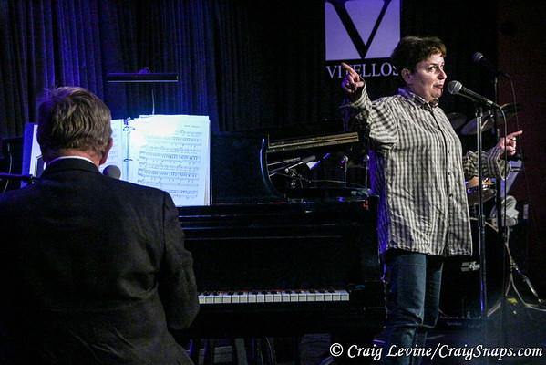Shelly Goldstein at Vitello's
