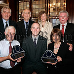 Newry and Mourne Trust enjoys joint success as they received their Investor in People awards, pictured are Eric Bowyer CEO Newry and Mourne Trust, Martin McLoughlin, Barbara Campbell, Sean H ...