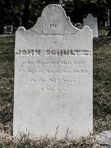 John Schultz Grave *