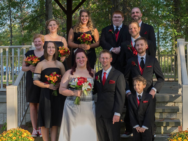 Grygier Wilding Wedding Group/Family/Wide angle/Panorama