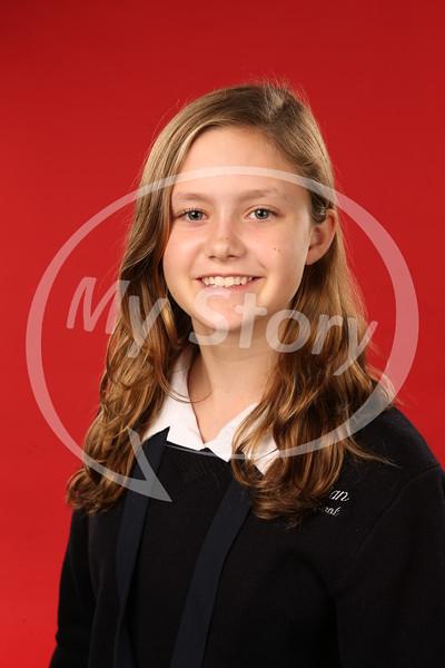 8th Grade Antonian Middle Catholic School Portraits (2016-17)