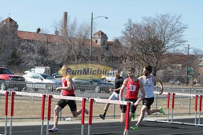 110M Hurdles Men - 2014 OU vs UDM Dual Track Meet
