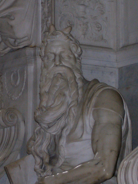 Church of Saint Peter in Chains - Michaelangelo's Moses
