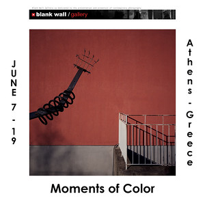31.05.2019 - Moments of Color at Blank Wall Gallery