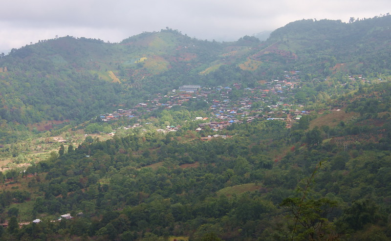 The town of Doi Chaang