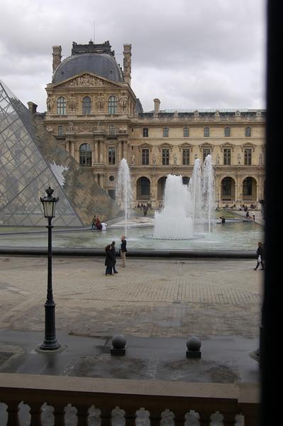 Louvre - taken from inside the museum