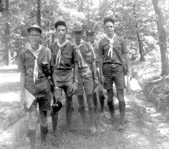 1962 - Taking Scouts to Shiloh National Military Park, TN