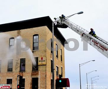 RIVERSIDE HOTEL MCHENRY FIRE 1-12-2014