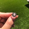 .53ctw Rose Cut Halo Ring, by Single Stone 9