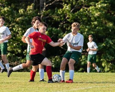 2021 Boys Soccer:  Hall-Dale vs Winthrop