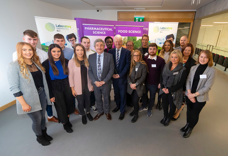 08/11/2019. Pictured at the launch of the Waterford Institute Technology Laboratory Apprenticeships at WIT. Picture: Patrick Browne