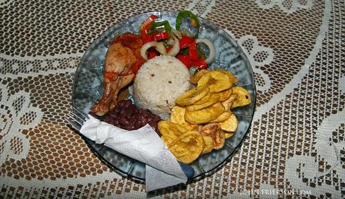 Nicaragua Lunch