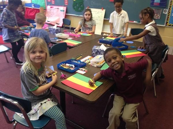 Kindergarten - Global Week 2015
