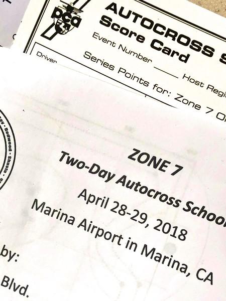 PCA Zone 7 Auto X School 2018