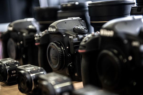 2019-03-19 > Nikon Sponsoring |Abholung Kameras