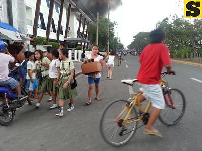 Fire in Barangay Lorega, Cebu City