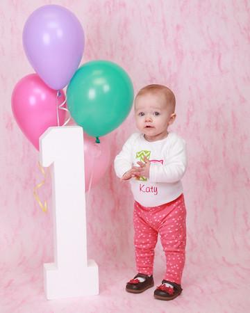 KATY'S FIRST BIRTHDAY
