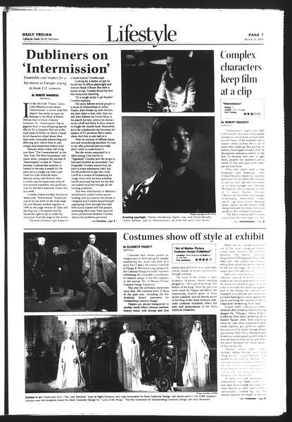 Daily Trojan, Vol. 151, No. 41, March 24, 2004