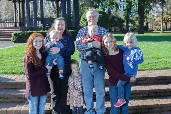 Burrus Family 2015