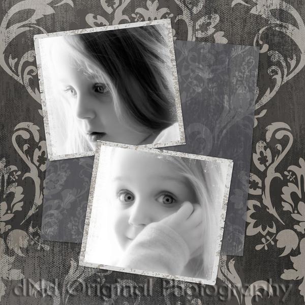 24 Grandkids Feb 2011 - Brielle soft hikey b&w framed.jpg