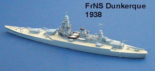 France WW2 Battleships