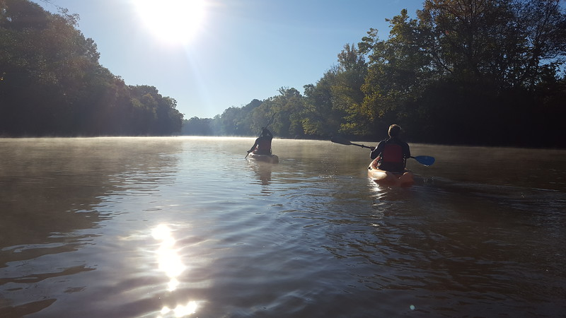 Saluda River - Kayaking - 10-23-2016