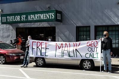 07Mar2021 San Francisco Rally in Support of Malik Washington