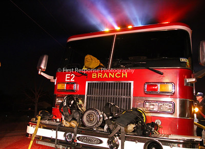 Branch, TX. Structure fire. 12-08-14