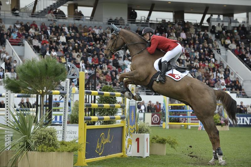 JUMPING : Claudia GISLER sur Touchable COUPE DES NATIONS 2012 -  CSIO DE LA BAULE 2012 - PHOTO : © CHRISTOPHE BRICOT