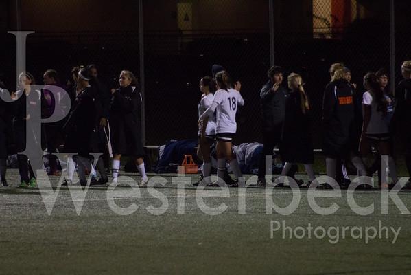 Varsity Girls Soccer vs Marina HS