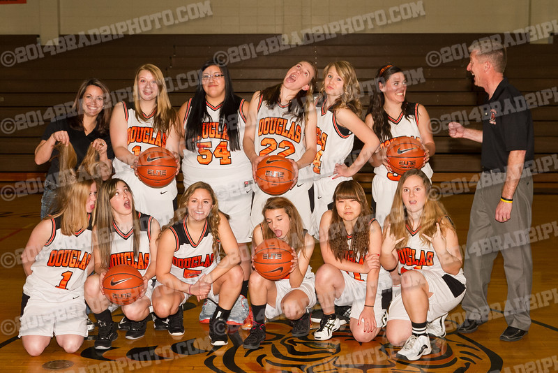 DHS Lady Tigers JV Team Photos 2014