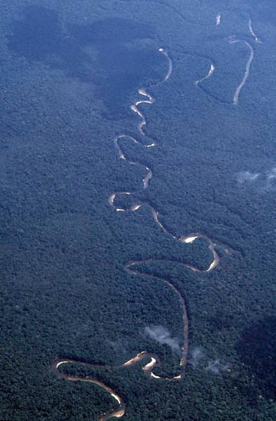 Overview of Columbian Amazon.Makuna, Vaupes Basin, Eastern Colombia Amazon.