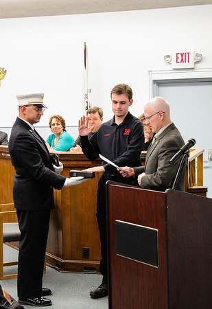 Park Ridge FD Swearing In 2014