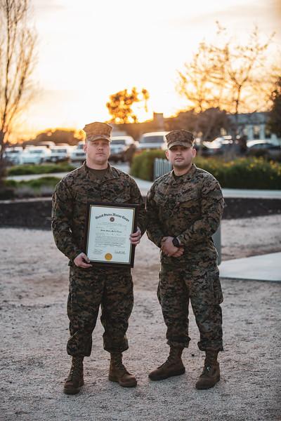 United States Marine Promotion