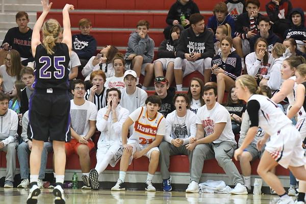 Student Crowd - Blair Basketball game