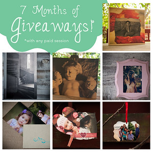 7 Months of Giveaways