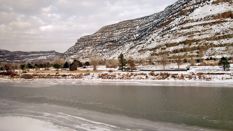 Amtrak's California Zephyr - Colorado to Utah - January 14, 2016